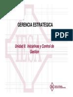 Gerencia Estratégica PFG Unidad 6