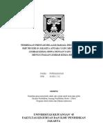 Skripsi Perbedaan Prestasi Belajar Bahasa Indonesia Siswa Smp Negeri 63 Jakarta Antara Yang Menggunakan Lembar Kerja Siswa Dengan Yang Tidak