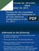 3GACPA 2013.Liquidation & Settlement