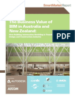 McGraw Hill Business Value of BIM ANZ
