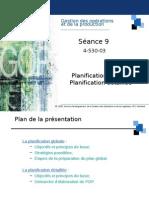 09-Prévision Et Planification Globale Et Détaillée