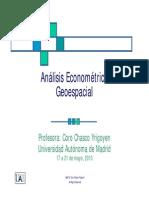 Sesion1_Introduccion Geoespecial Econometria
