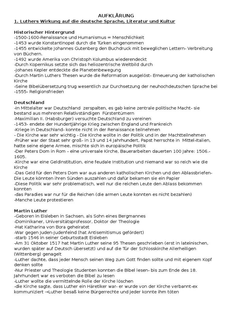 AUFKLÄRUNG (1)