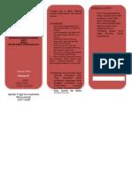 Leaflet Batu Empedu