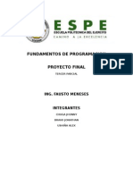 Fundamentos de Programacion.(Proyecto)Docx