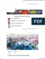 02-05-15 Promete Ivonne Centro Acuático Para Apodaca