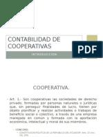 Contabilidad de Cooperativas- ciencias de ingie