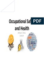 Intro Occupational Safety and Health