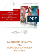 Consejos Escolars de Participación Social