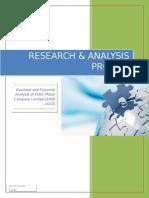 Financial Analysis of PSMC