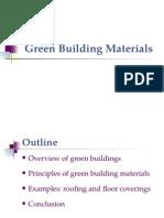 Green Building Materials pdf | Flooring | Volatile Organic Compound