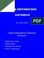 Dra. Alicia Eimon -Que es el Lupus.ppt