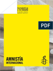 amnisty - violencia de genero