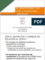 Adicciones DSM IV DSM 5 CIE-10