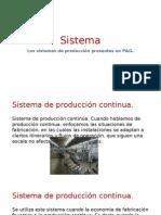 Sistema de Produccion P&G