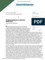 Ciência e Cultura - Epistolografia e Crítica Genética