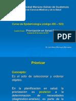 Priorizacic3b3n en Salud Pc3bablica 25-01-2011