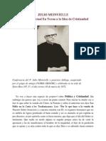 La Política Actual en Torno a la Idea de Cristiandad - Padre Julio Meinvielle