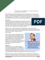 Ambuja Cements- ERP Implementation - Case Study