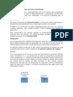 Arquitectura de La Base de Datos Distribuida