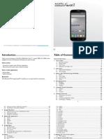 Alcatel ONETOUCH Fierce 2 User Guide
