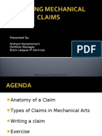 Presentation on Drafting Mechanical Claims