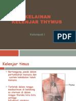 Kelainan Kelenjar Thymus