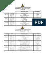 Jadual Periksa Pksr 2014