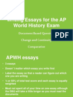 whap essay writing review