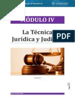 Introducción Al Derecho II - Módulo IV