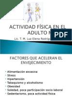 Actividad Física en El Adulto Mayor