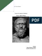 Despre suflet la Platon