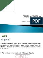 WiFi e WiMax