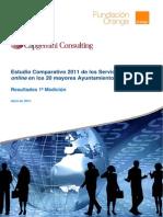 SP Estudio Comparativo Ayuntamientos 2011