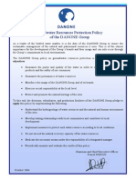 Groundwater Protection Charter 2004 1