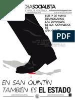 Lucha Socialista mayo 2015