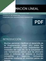 Programacin Lineal