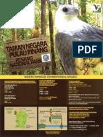 Brosur Taman Negara Penang