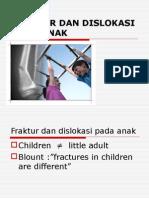 Fraktur dislokasi anak