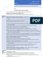 resume montana ricks april 2015