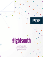 LGBT* in the South program - 2015