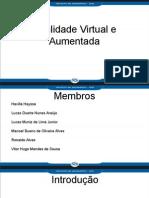 Realidade Virtual e Aumentada