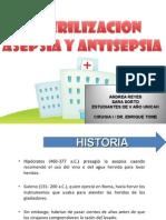Asepsia, Antisepsia y Esterilizacion