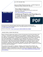 Intellectual Property and Food Security in Least Developed Countries