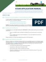 Accommodation Application Manual
