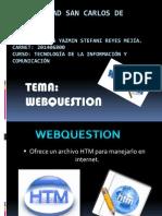 Webquestion Mas