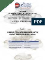 KUMPULAN 2 - SME3023-jurang pencapaian matematik sek menengah.pptx