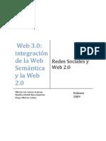 Redessociales Web 30 Integracion de La Web Semantica y La Web 20 Santos Nava Godoy