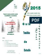 Guía CHAPINGO 2015