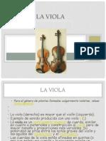 La Viola Un Instrumento Musical…